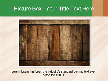 New oak parquet PowerPoint Template - Slide 16