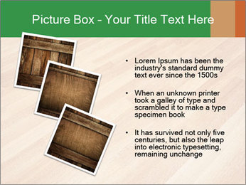 New oak parquet PowerPoint Template - Slide 17