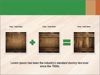New oak parquet PowerPoint Template - Slide 22