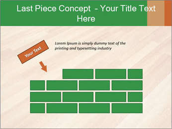 New oak parquet PowerPoint Template - Slide 46