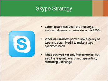 New oak parquet PowerPoint Template - Slide 8