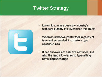 New oak parquet PowerPoint Template - Slide 9
