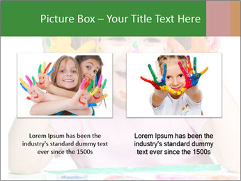 Portrait of a cute cheerful girl PowerPoint Template - Slide 18