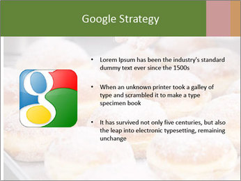 Baker pours sugar over pastry PowerPoint Template - Slide 10