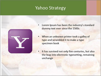 Baker pours sugar over pastry PowerPoint Template - Slide 11