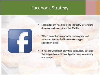 Baker pours sugar over pastry PowerPoint Template - Slide 6
