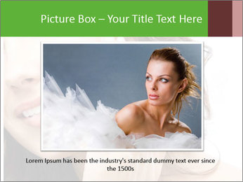 Woman Touches Face PowerPoint Template - Slide 15