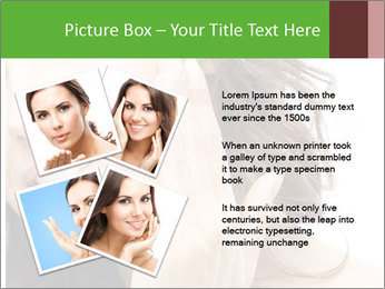 Woman Touches Face PowerPoint Template - Slide 23