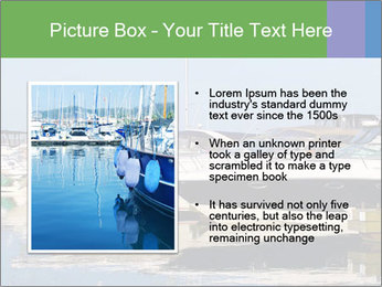 Pier And Motorboats PowerPoint Template - Slide 13