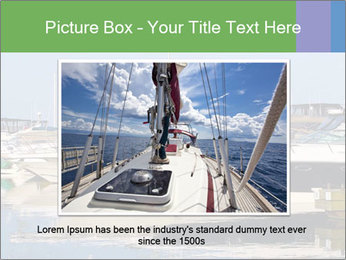 Pier And Motorboats PowerPoint Template - Slide 15