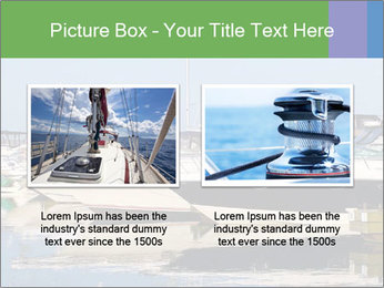 Pier And Motorboats PowerPoint Template - Slide 18