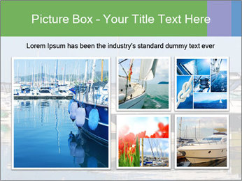 Pier And Motorboats PowerPoint Template - Slide 19