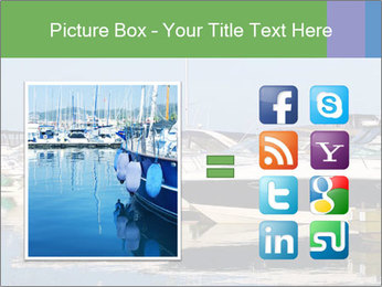 Pier And Motorboats PowerPoint Template - Slide 21
