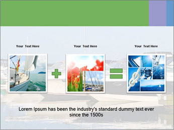 Pier And Motorboats PowerPoint Template - Slide 22