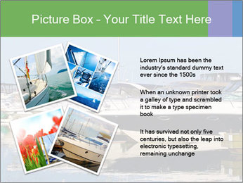 Pier And Motorboats PowerPoint Templates - Slide 23