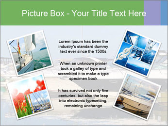 Pier And Motorboats PowerPoint Template - Slide 24