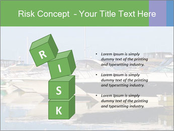 Pier And Motorboats PowerPoint Template - Slide 81