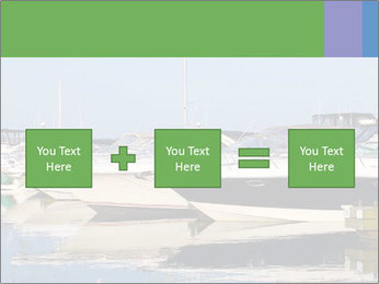 Pier And Motorboats PowerPoint Template - Slide 95
