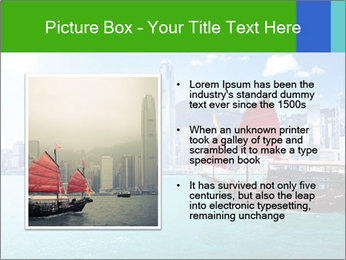 Cityline And Wooden Boat PowerPoint Template - Slide 13