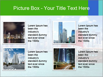 Cityline And Wooden Boat PowerPoint Templates - Slide 14