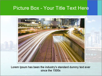 Cityline And Wooden Boat PowerPoint Templates - Slide 15