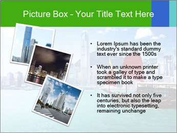 Cityline And Wooden Boat PowerPoint Template - Slide 17