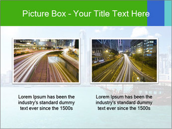 Cityline And Wooden Boat PowerPoint Template - Slide 18