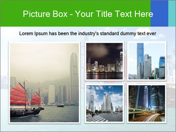 Cityline And Wooden Boat PowerPoint Templates - Slide 19