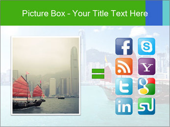 Cityline And Wooden Boat PowerPoint Templates - Slide 21