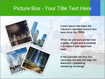 Cityline And Wooden Boat PowerPoint Template - Slide 23