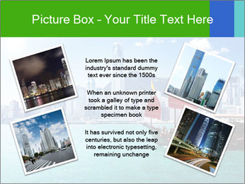 Cityline And Wooden Boat PowerPoint Template - Slide 24