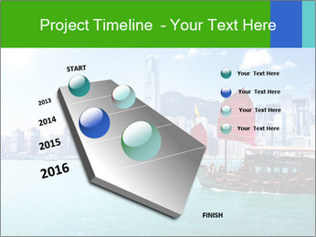 Cityline And Wooden Boat PowerPoint Template - Slide 26