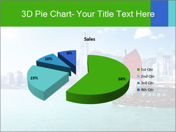 Cityline And Wooden Boat PowerPoint Template - Slide 35