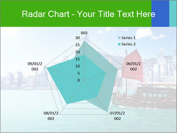 Cityline And Wooden Boat PowerPoint Template - Slide 51