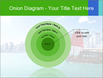 Cityline And Wooden Boat PowerPoint Template - Slide 61