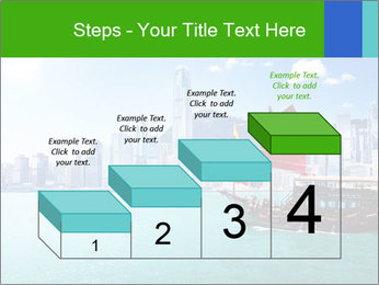 Cityline And Wooden Boat PowerPoint Template - Slide 64
