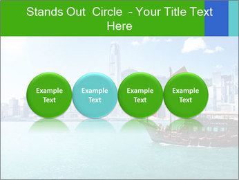 Cityline And Wooden Boat PowerPoint Templates - Slide 76