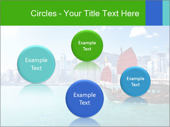Cityline And Wooden Boat PowerPoint Template - Slide 77