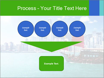 Cityline And Wooden Boat PowerPoint Templates - Slide 93