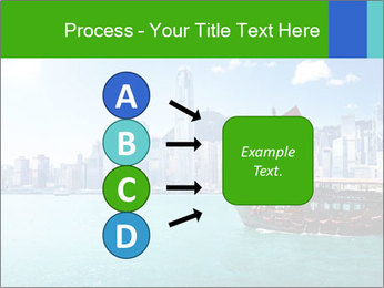 Cityline And Wooden Boat PowerPoint Template - Slide 94