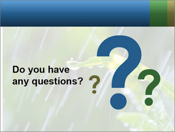 Seasonal Rain PowerPoint Templates - Slide 96