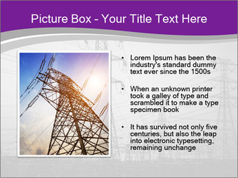 Electricity Lines PowerPoint Templates - Slide 13