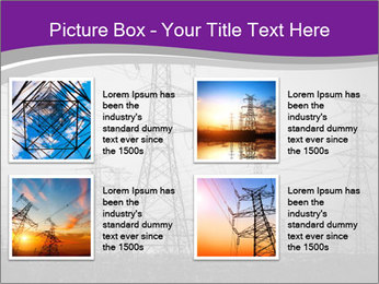 Electricity Lines PowerPoint Templates - Slide 14