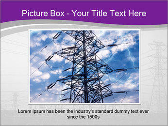 Electricity Lines PowerPoint Templates - Slide 15