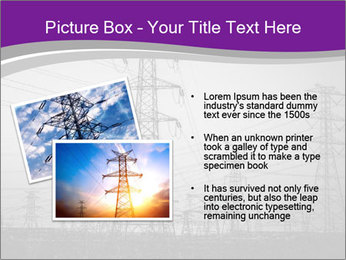 Electricity Lines PowerPoint Templates - Slide 20
