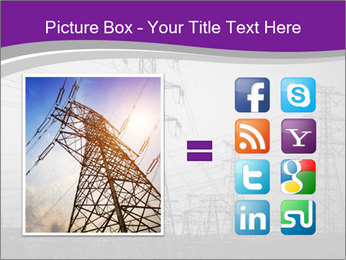 Electricity Lines PowerPoint Templates - Slide 21