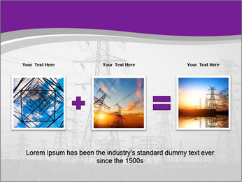 Electricity Lines PowerPoint Templates - Slide 22