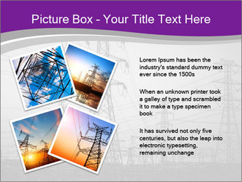 Electricity Lines PowerPoint Templates - Slide 23