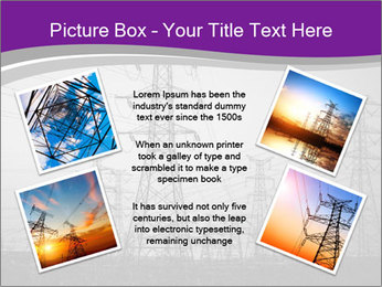 Electricity Lines PowerPoint Templates - Slide 24