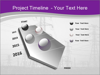 Electricity Lines PowerPoint Templates - Slide 26
